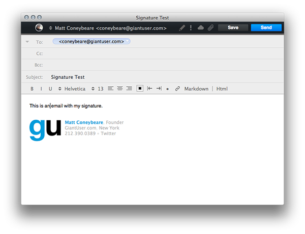 How to add png to gmail signature. The right way install