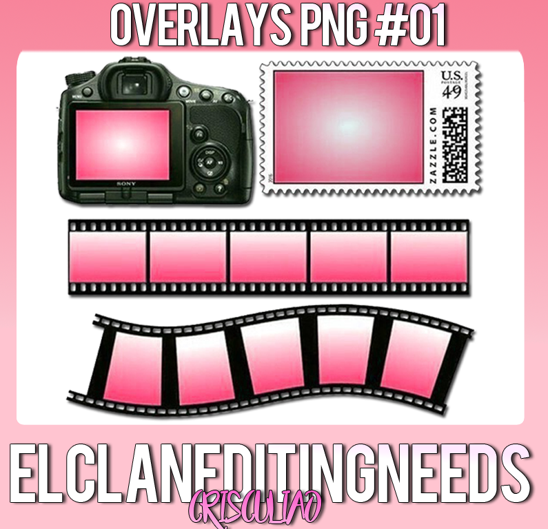 Png overlays. By crisculiao on deviantart
