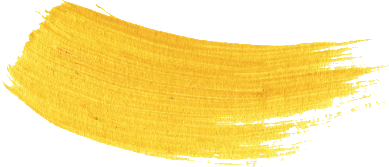 yellow strokes transparent. Paint brush stroke png free download