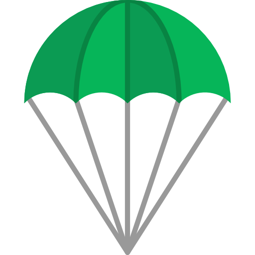 Png parachute illustration. Paragliding gliding sports and