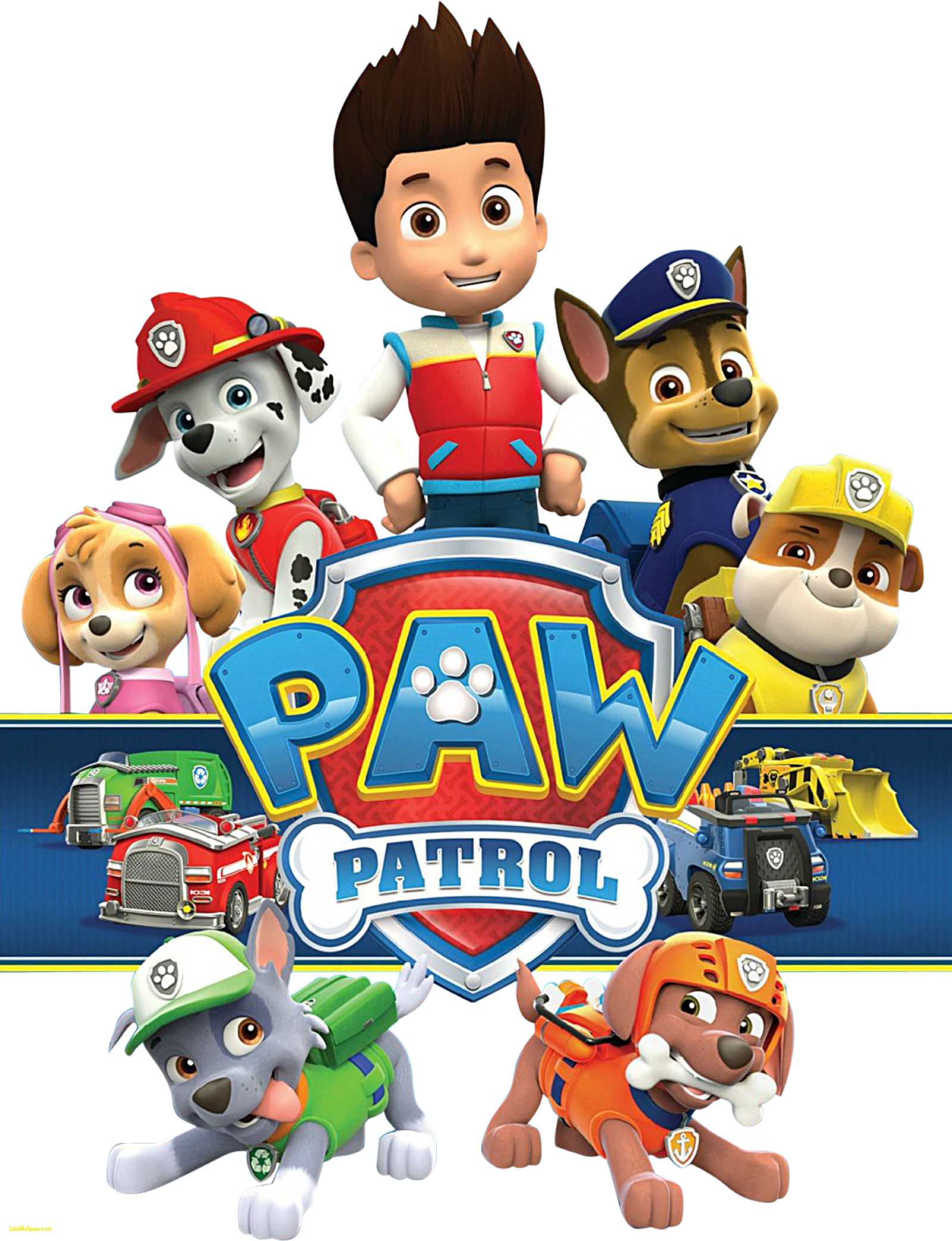 Png paw. Patrol clip art transprent