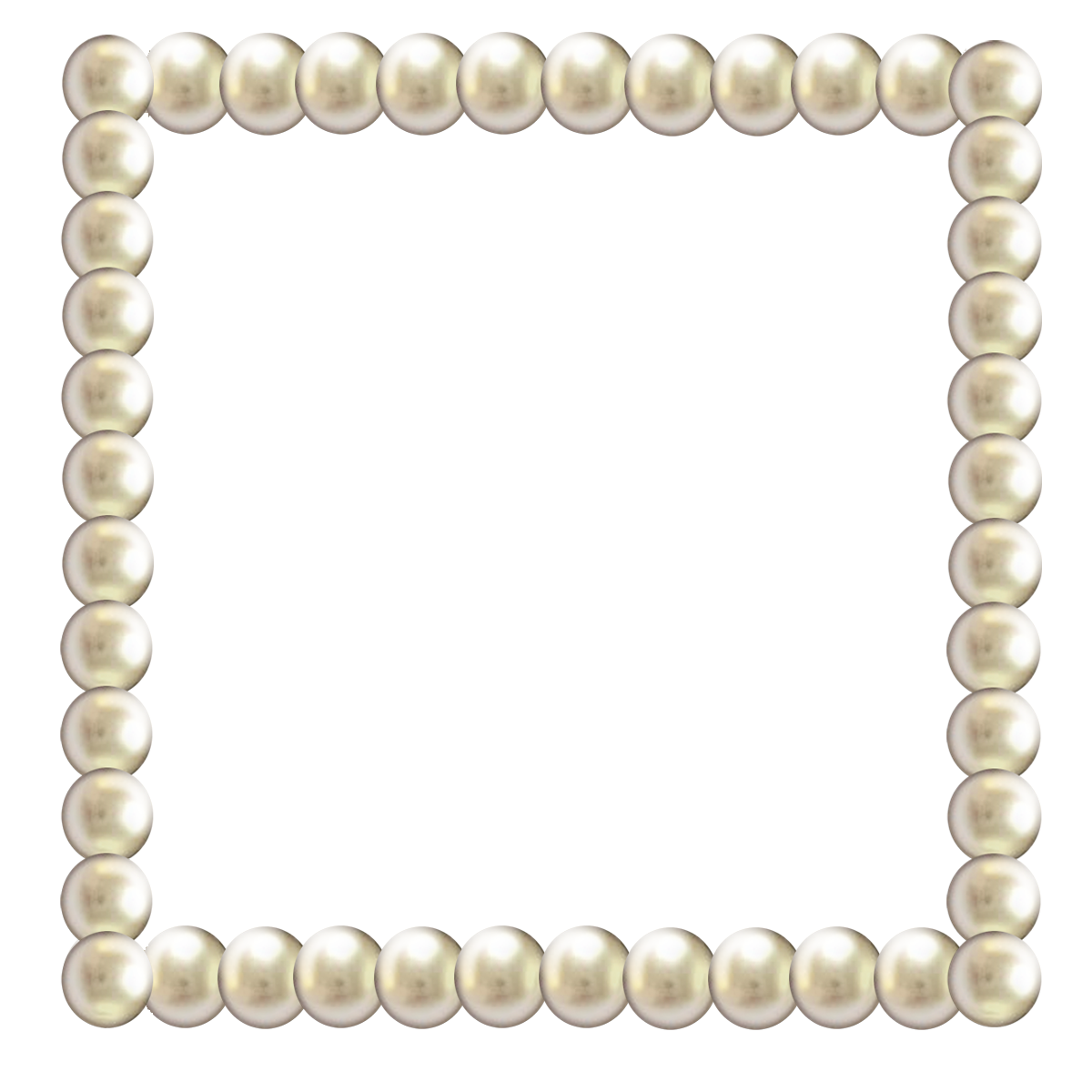 Png pearl borders. Jewellery stock photography clip