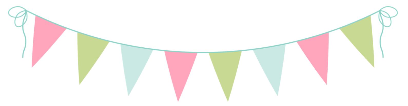 Png pennant banner. Collection of clipart