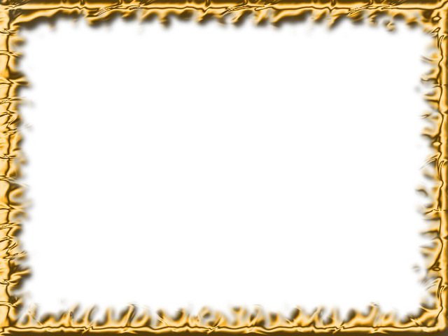 Png photo frame download. Free gold hq image