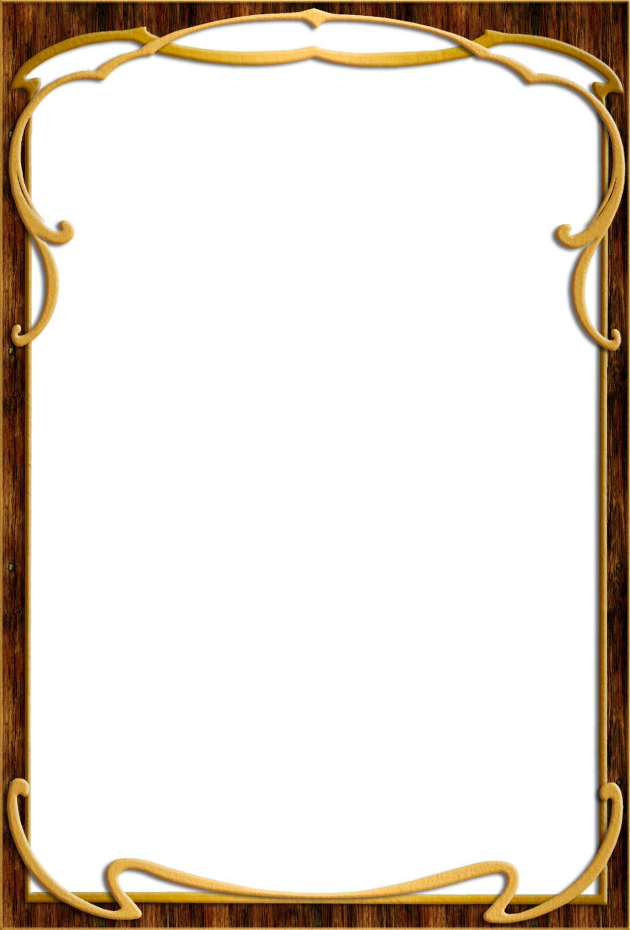 Photo frames png. Wood frame images free