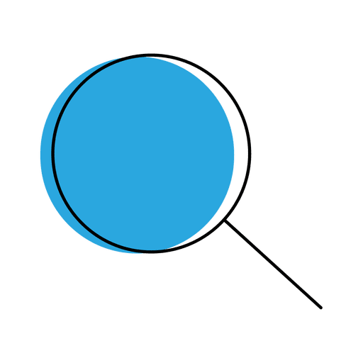 Vector viewer. Zoom icon transparent png