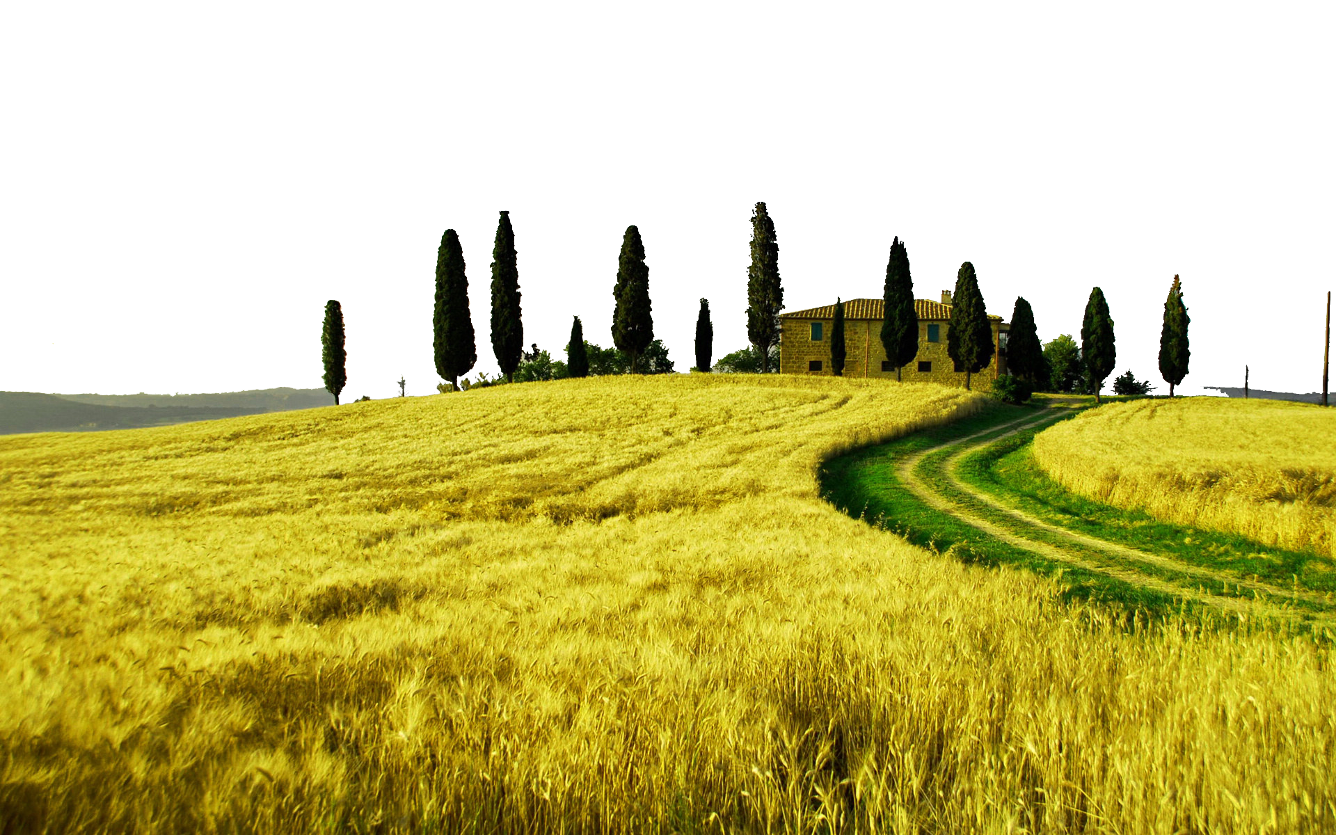 Png photography definition. Tuscany landscape high television