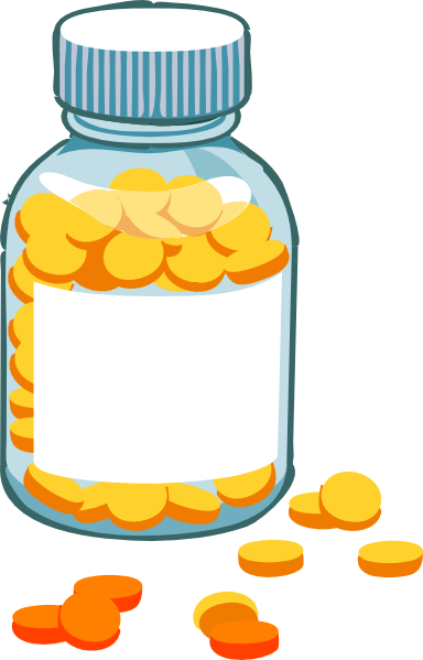 Png pill bottle. Blank clip art at