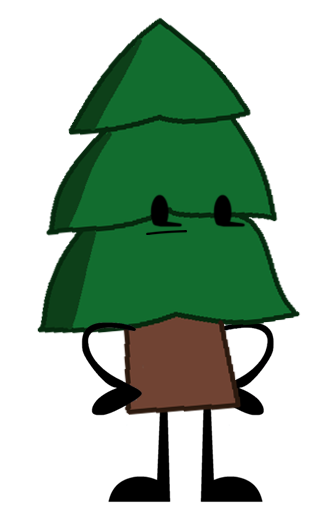Image tree object shows. Png pine clip library library
