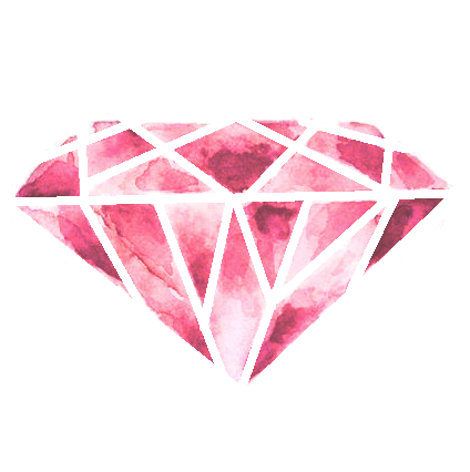 Png pink. Diamond heart transparent mart