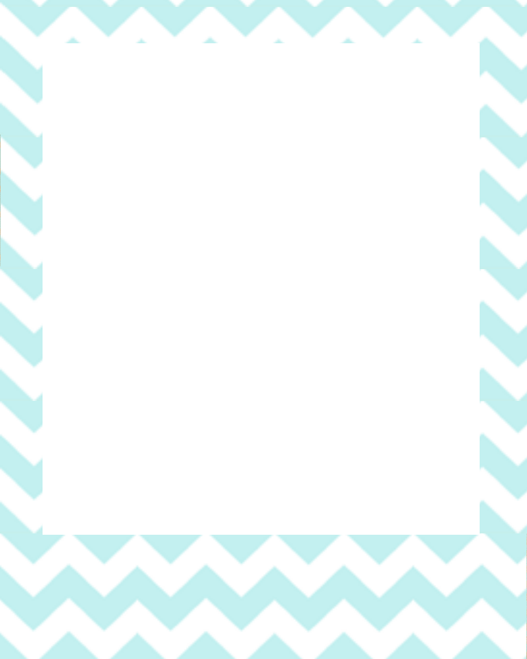 Png polaroid frame. Blue chevron sweetly scrapped