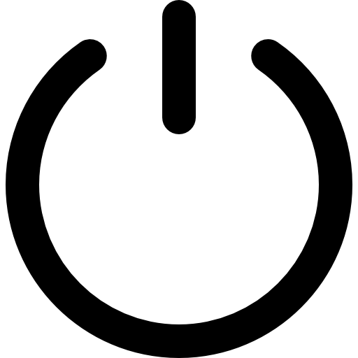 Png power. Button symbol free signs