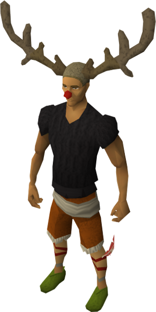 Png reindeer antlers. Image hat equipped runescape