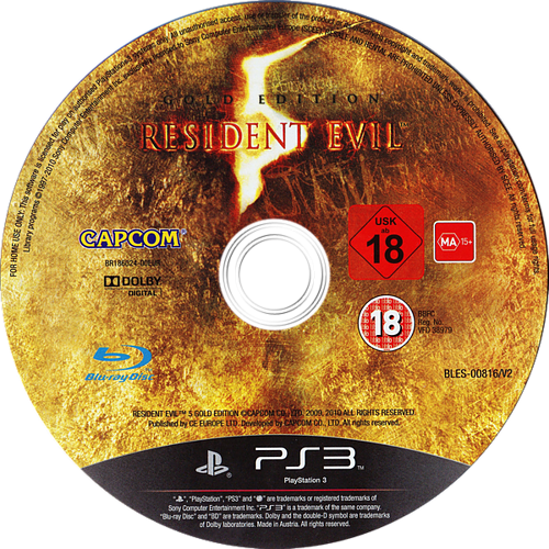 Png resident evil. Bles gold edition