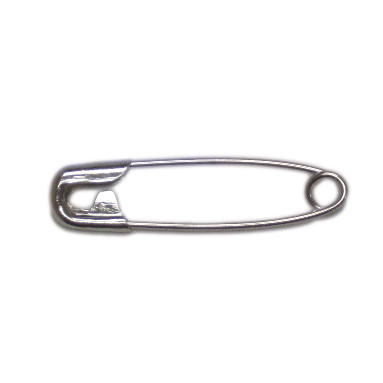 Png safety pin. Nickel plated pins