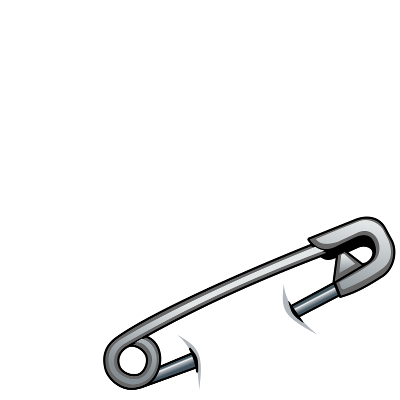 Png safety pin.