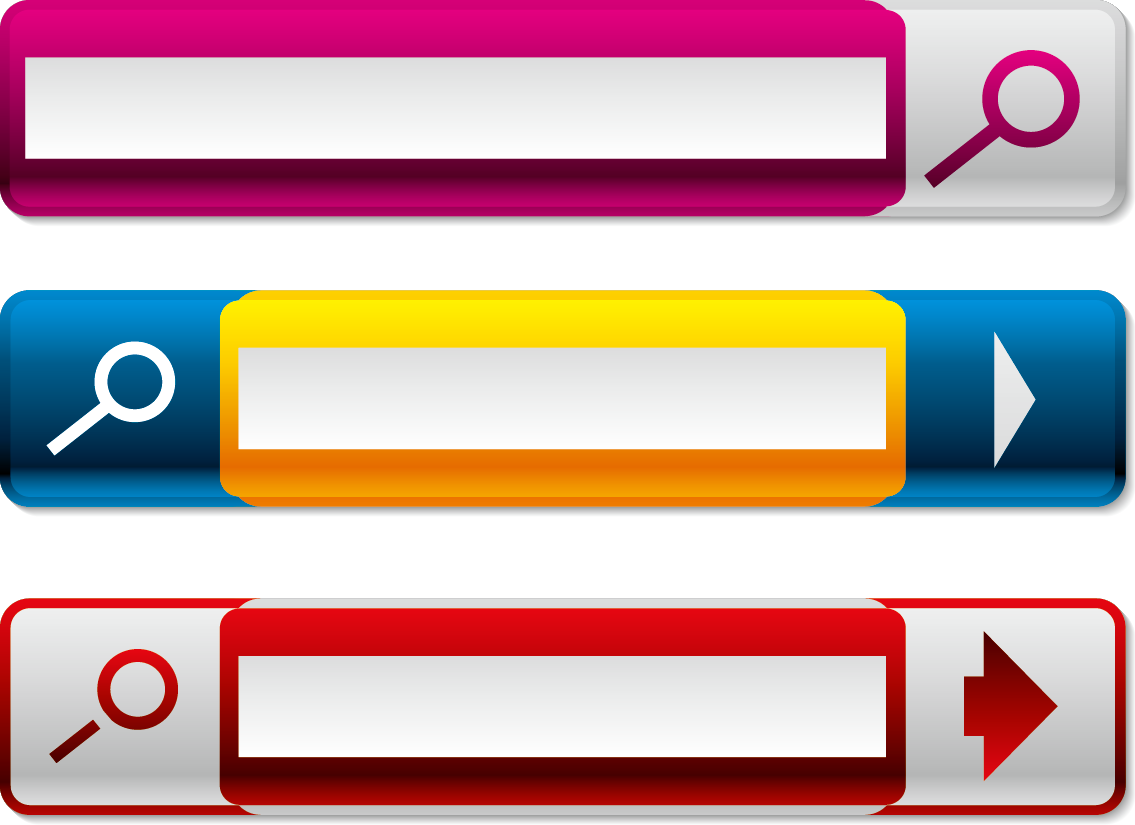 Button icon transprent free. Png search bar banner transparent stock