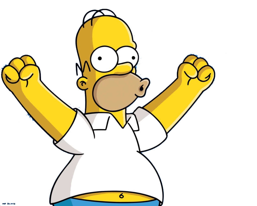 Homer simpson youtube tenor. Png simpsons banner free download