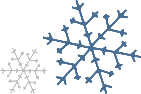 Png snowflakes falling. Clip art at clker