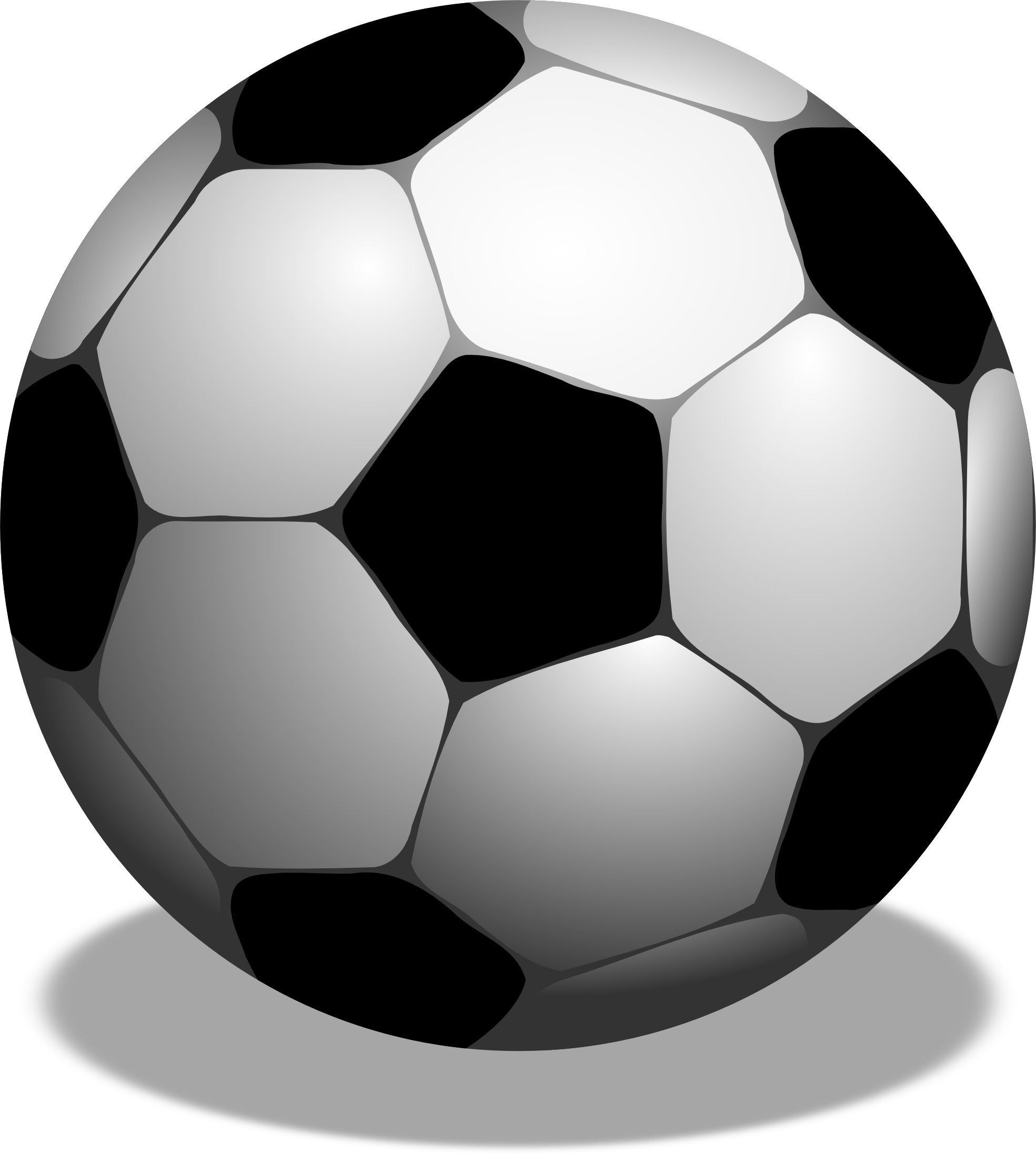 soccer ball clipart rainbow