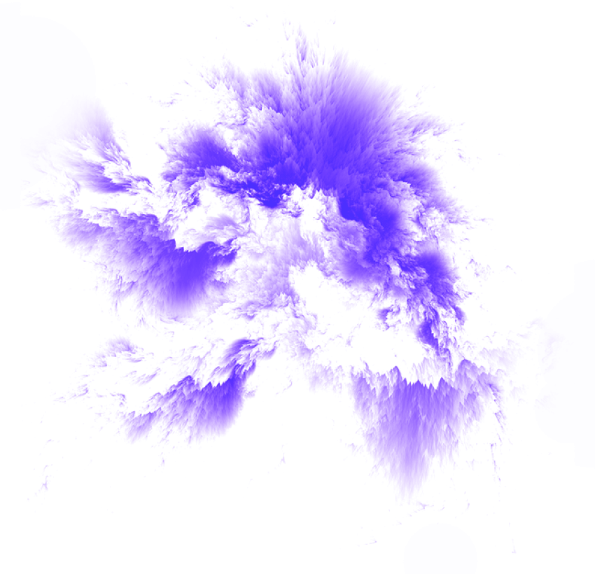 Nebula transparent png. Blue and purple space