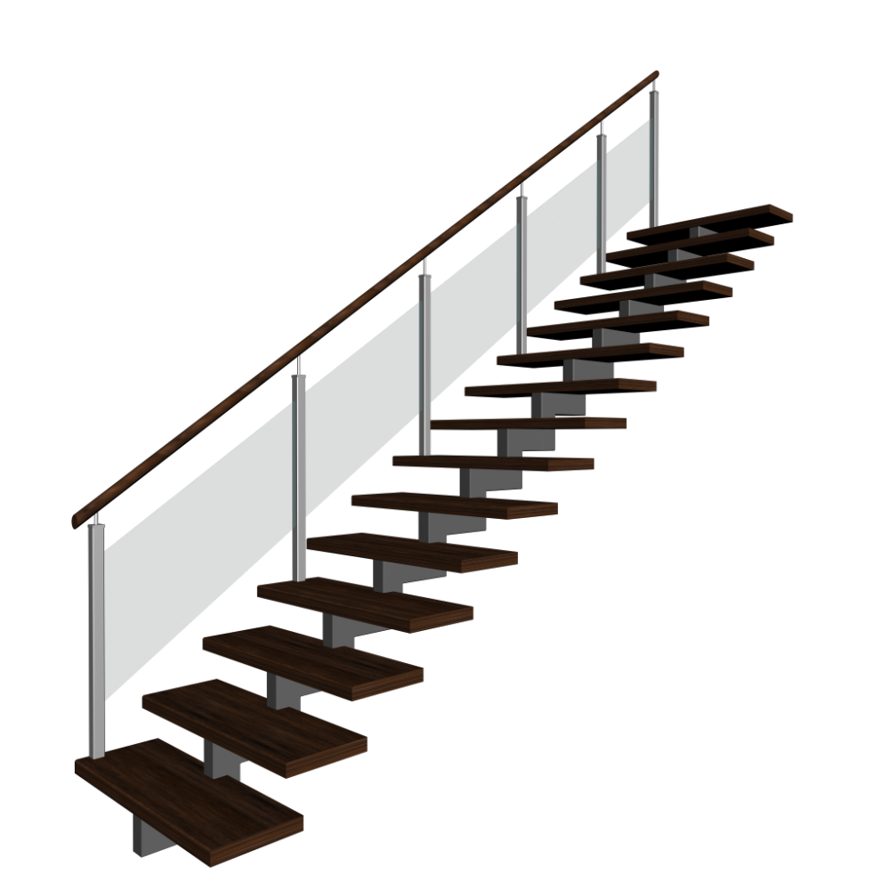 Stairs transparent 3 d. Png picture arts