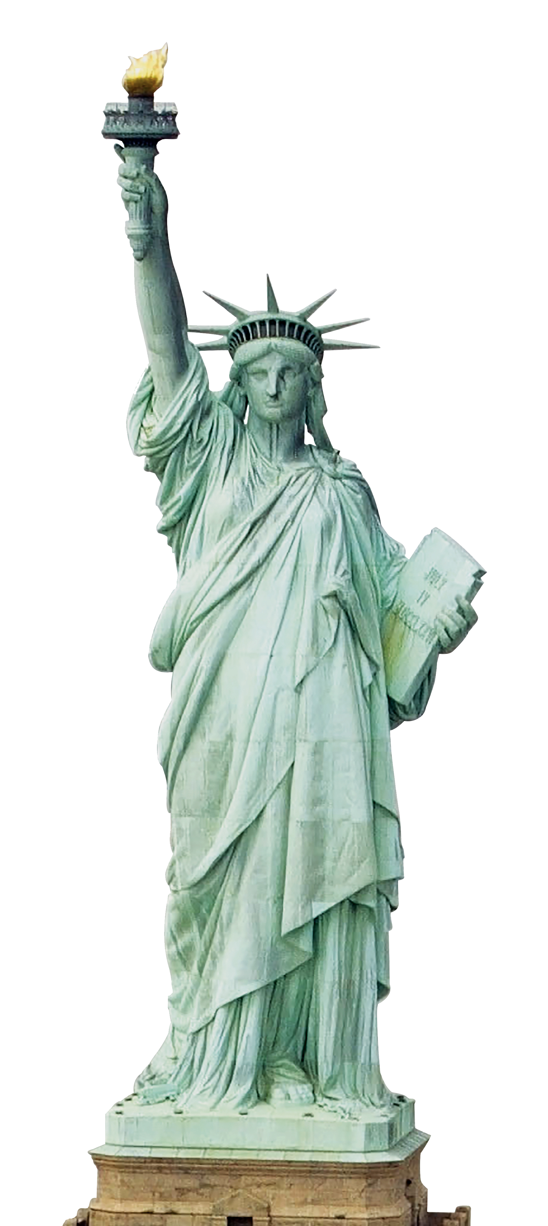 Png statue clear background. Of liberty transparent mart