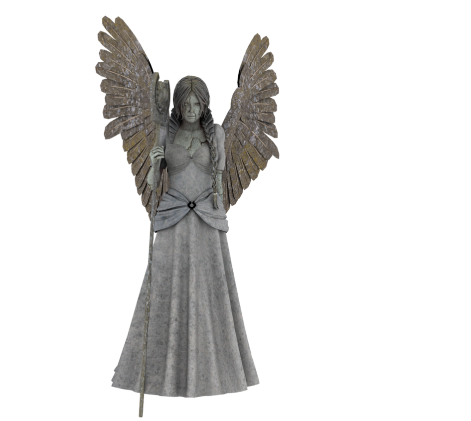 Drawing statue angel. Png by neverfading stock