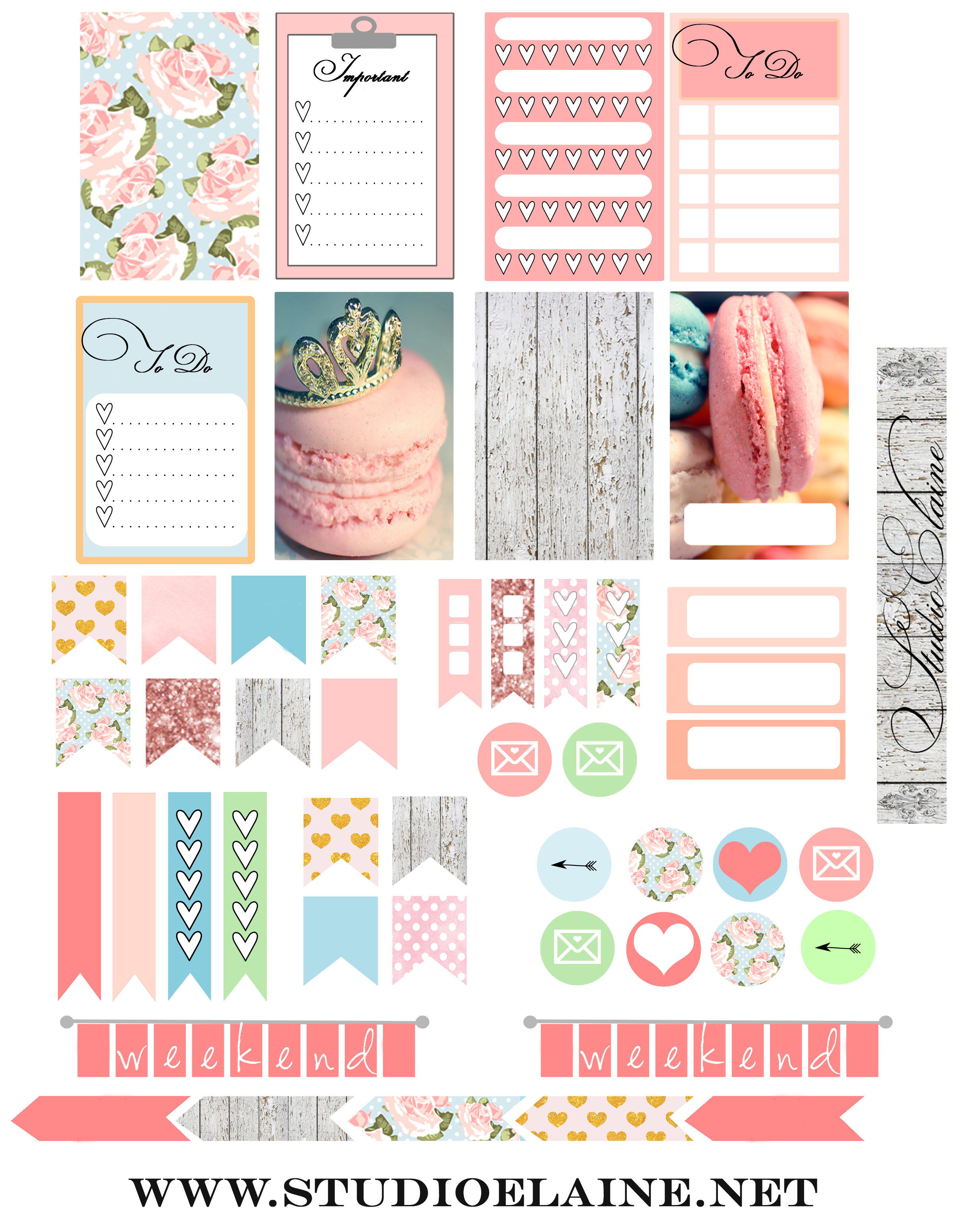 Png stickers download. Happy planner cover and