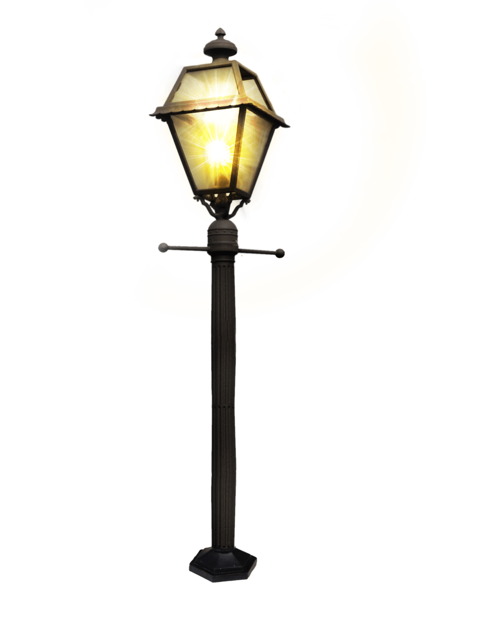 Transparent stickpng objects. Street lamp png picture stock