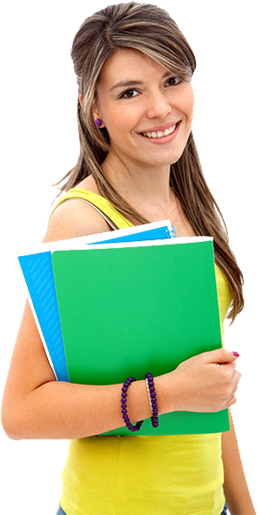 Png student. Girl image