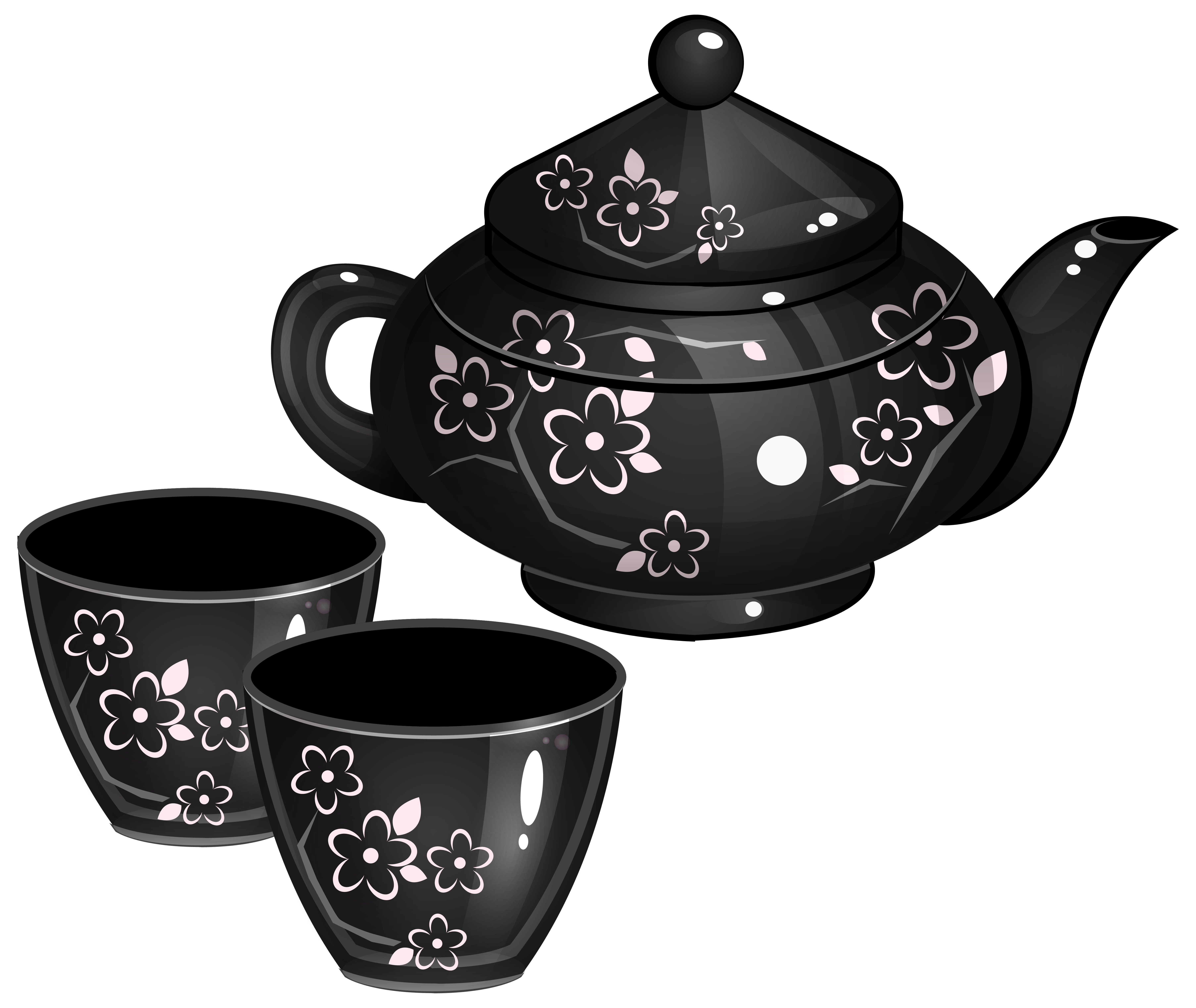 Tea set png. Clipart image gallery yopriceville