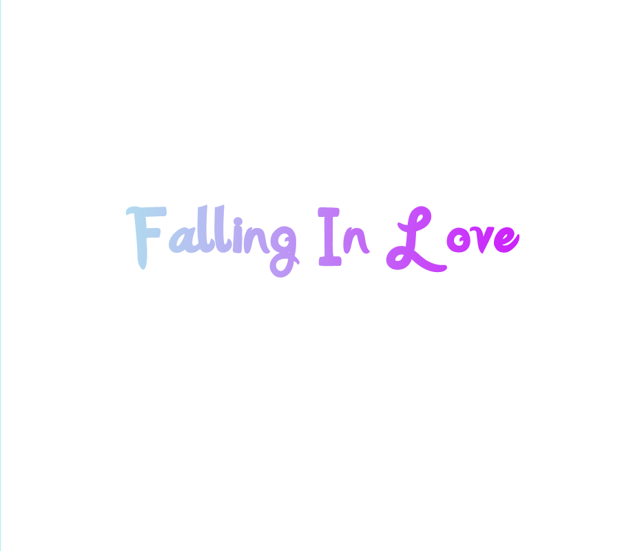 fall in love png