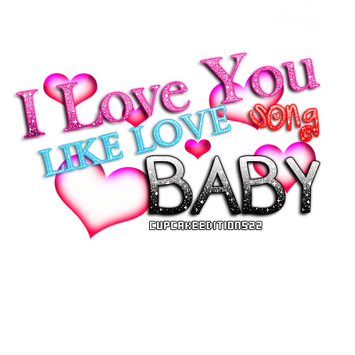 Song quotes png. I love you like