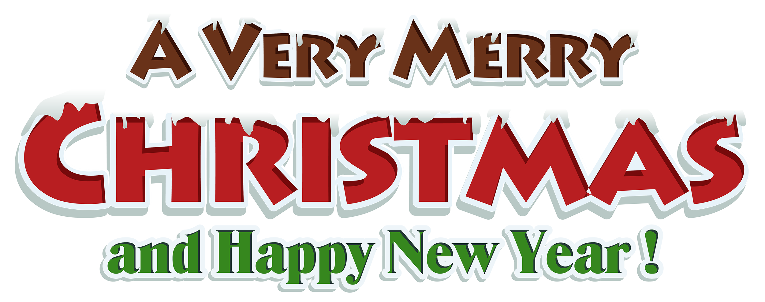 Neon transparent merry christmas. Text png images all