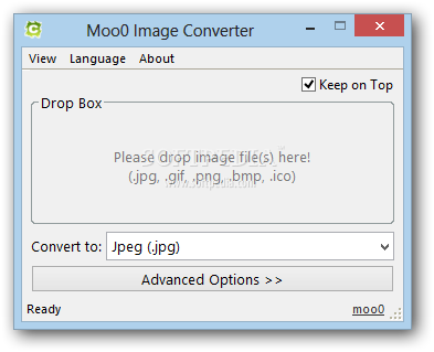 Png to bmp converter. Download moo image