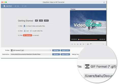 Convert png to gif. Free video converter for