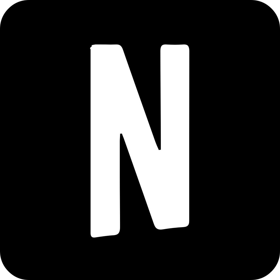 Netflix drawing svg. Png icon free download
