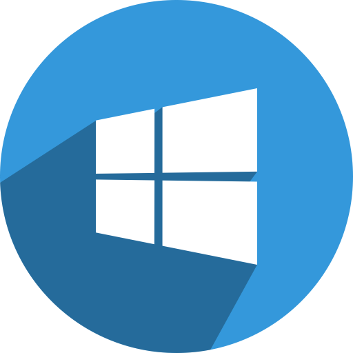 Png to icon windows 10. Social media network fill