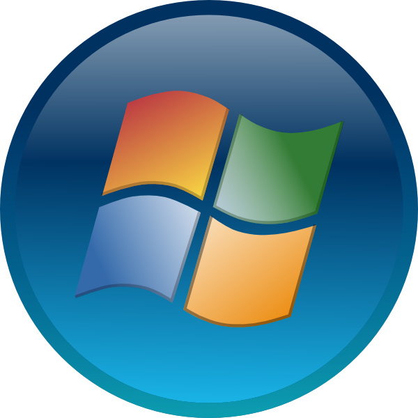 windows 7 start orb png