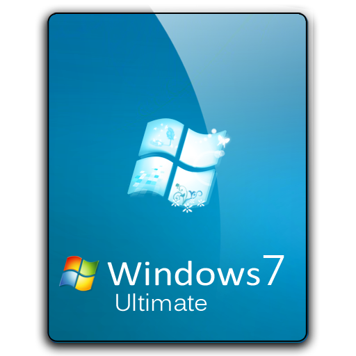 Windows 7 png logo. Ultimate dock icon by