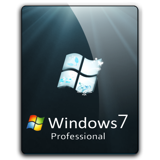 Windows 7 png icons. Pro dock icon by