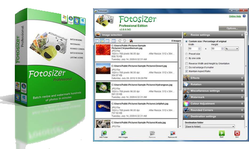 Png resize online. Fotosizer home banner