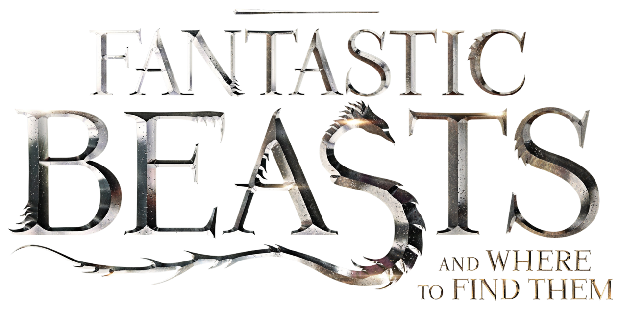 Beast vector logo. Fantastic beasts and where