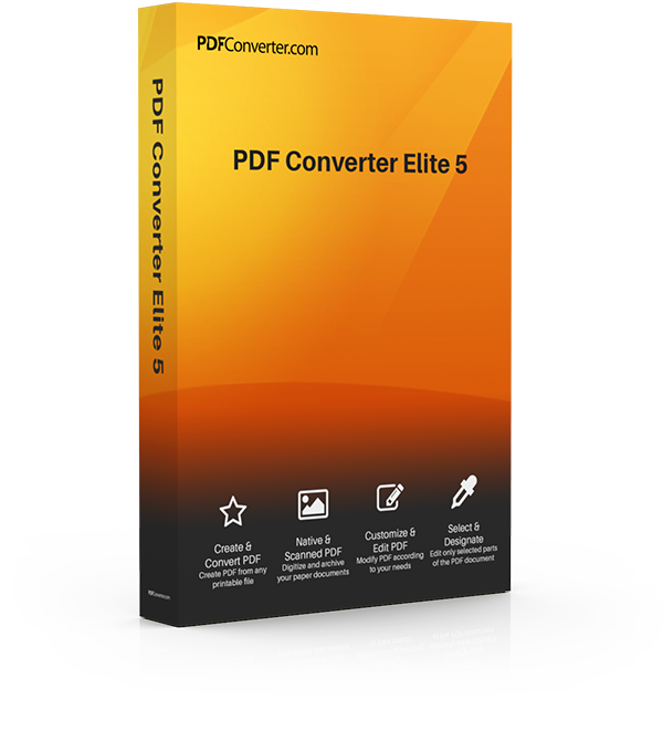 Create pdf from png. Download converter elite for