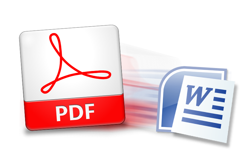 Pdf image to png. Word document converter