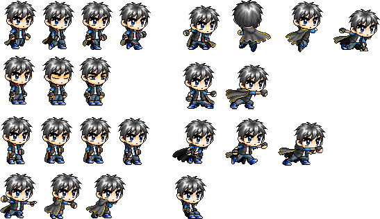 Png to sprite. Zanpto sheet by lswbeast