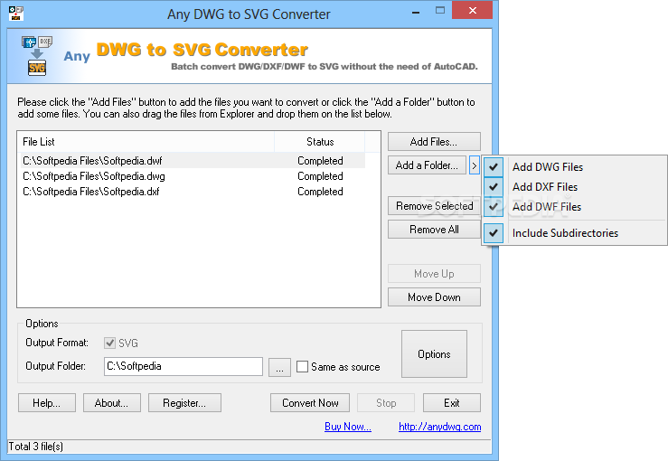 Svg convert dwg. Download any to converter