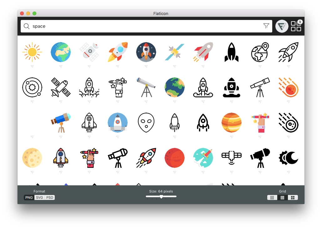 Png to svg mac. Os x app flaticon