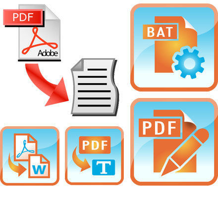 Convert png image to text. Pdf txt documents into